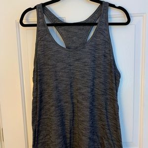 Lululemon Racerback Heather Gray Tank Top